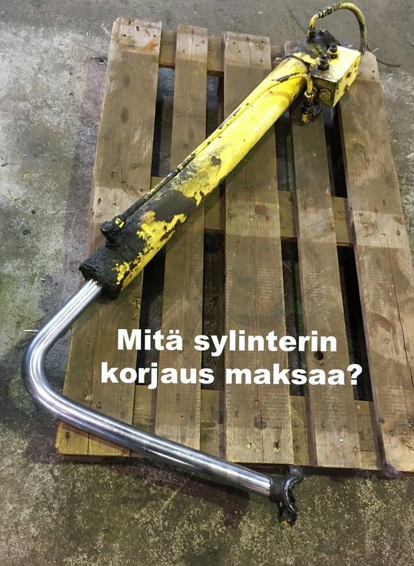 Hydraulisylinterin korjaus