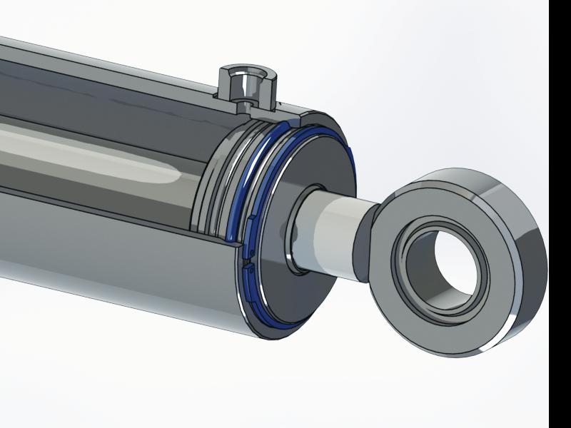 Lukkolanka, Hydraulisylinterin korjaus